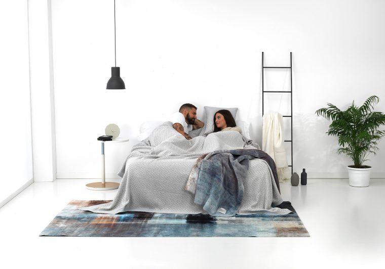 Textils mora sofing winter bedroom