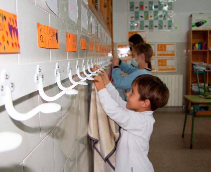 manta escuela escola cole de textils mora
